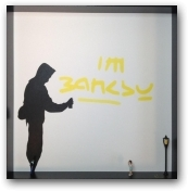 I'm Banksy  - click to visit artists gallery ->