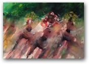 Race to the Finish  - click to visit artists gallery ->