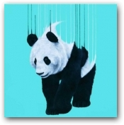 Panda Pour  - click to visit artists gallery ->