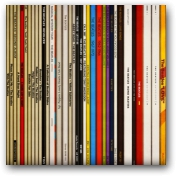 Spines #4 Beatles  - click to visit artists gallery ->