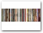 Beatles,Bowie,Stones Spines  - click to visit artists gallery ->