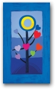 Blue Love Tree  - click to visit artists gallery ->