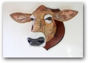 Jersey Cow  - click to visit artists gallery ->