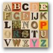 Appropriated Alphabet 7  - click to visit artists gallery ->