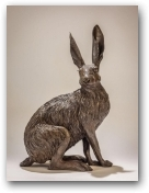 Seated Hare  - click to visit artists gallery ->