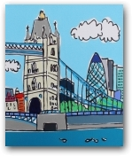 Mini Tower Bridge Day  - click to visit artists gallery ->
