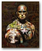 Captain America  - click to visit artists gallery ->