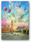 London Celebrations  - click to visit artists gallery ->