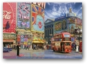 Pop Goes London - unframed  - click to visit artists gallery ->