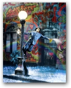 Spraying in the Rain  - click to visit artists gallery ->