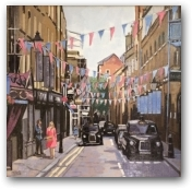 Summer's Day Seven Dials  - click to visit artists gallery ->