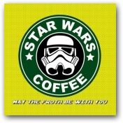 May the Froth Be with You  - click to visit artists gallery ->