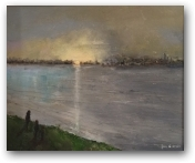 On the Thames  - click to visit artists gallery ->