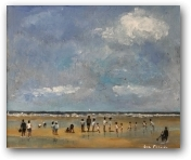 Summer at West Wittering  - click to visit artists gallery ->