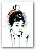 Audrey Dream unframed  - click to visit artists gallery ->