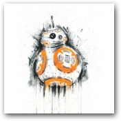 BB8 unframed  - click to visit artists gallery ->