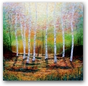 When I See Birches  - click to visit artists gallery ->