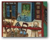 Cafe Arcadia  - click to visit artists gallery ->