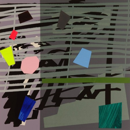 Bruce McLean  |  Green, Grey, Violet Shadow