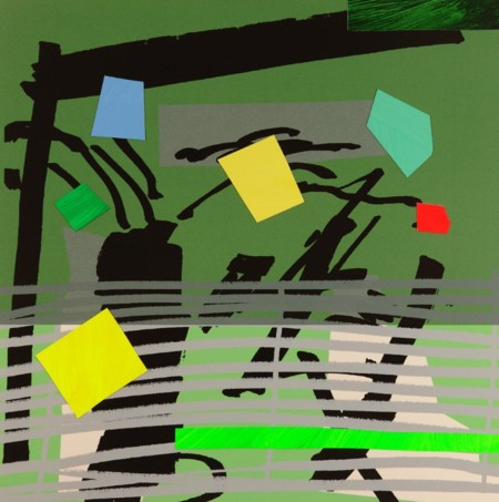 Bruce McLean  |  Grey Grow Green