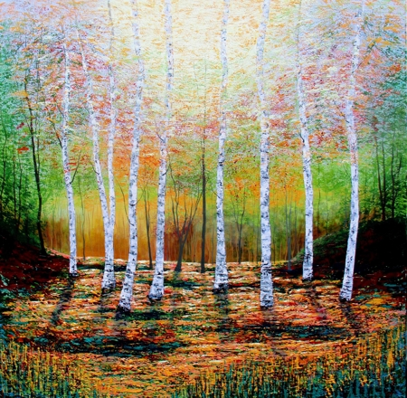 Amanda Horvath  |  When I See Birches